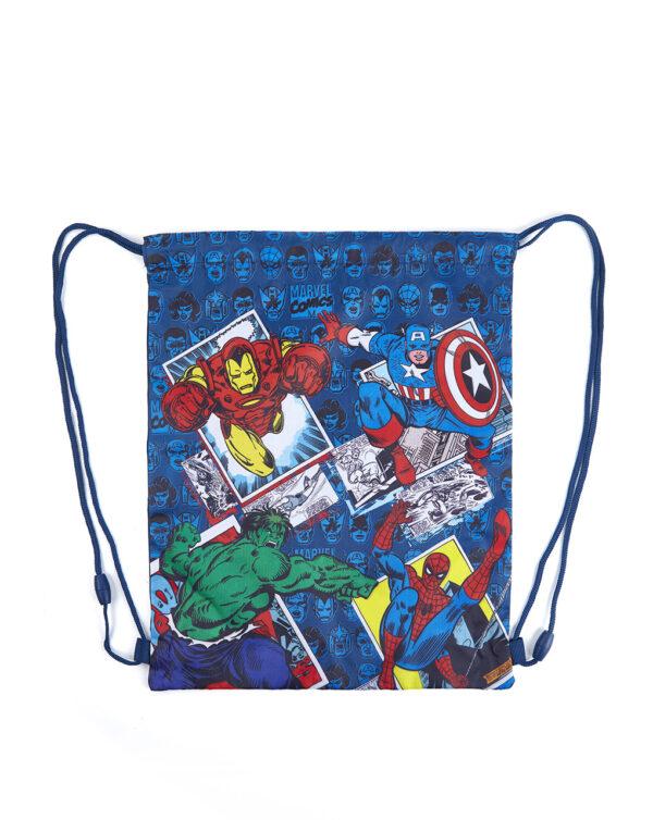 Sacca blu con stampa Avengers - Prénatal