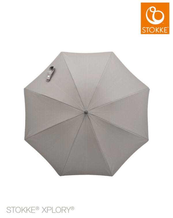 Stokke® Passeggino Ombrellino Parasole - grey melange - Stokke