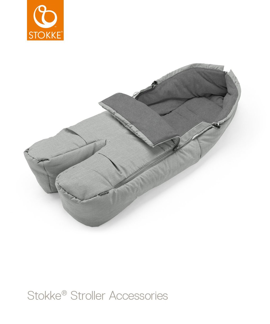 Stokke® sacco coprigambe - grey melange - Stokke