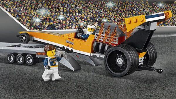 LEGO® City - Trasportatore di dragster (5-12 anni) - Lego