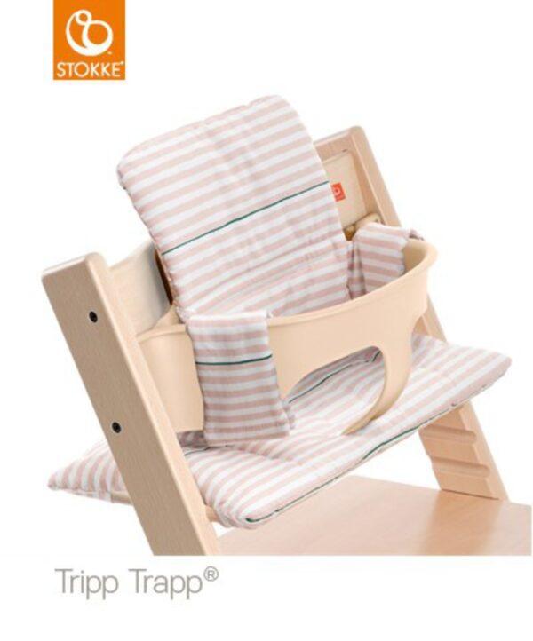 Cuscino per Stokke® Tripp Trapp® - pink stripes - Stokke