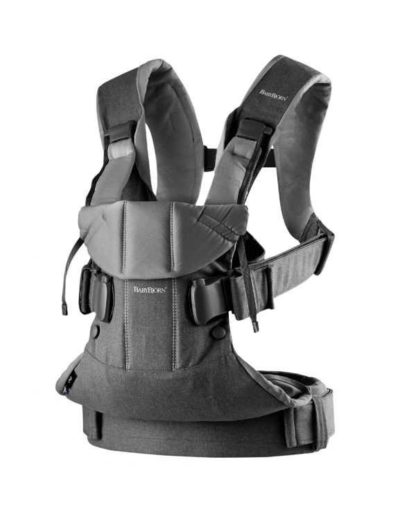 Marsupio Baby Carrier One denim grey/dark grey - Baby Bjorn