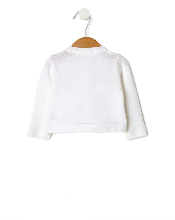 Cardigan in tricot bianco - Prénatal