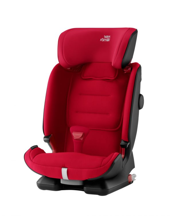 Advansafix IV R fire red (Gr. 1/2/3) - Britax Romer