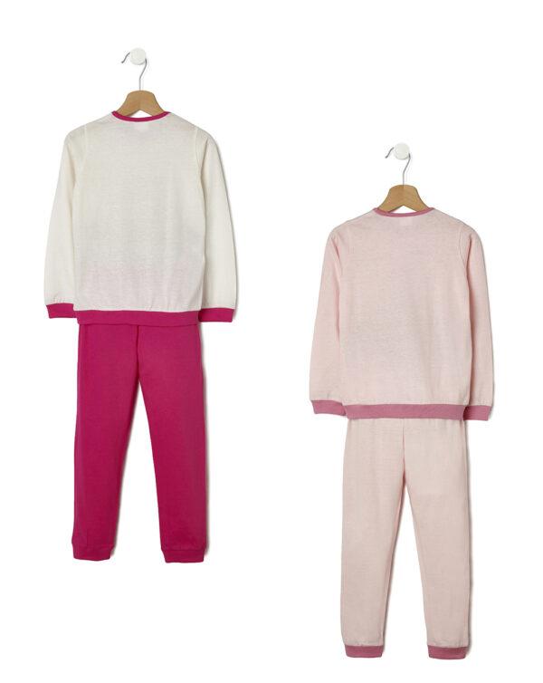 Pack 2 pigiami con ballerine stampate - Prénatal