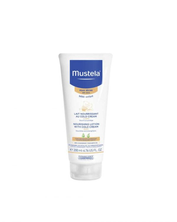 Latte nutriente cold cream 200 ml - Mustela