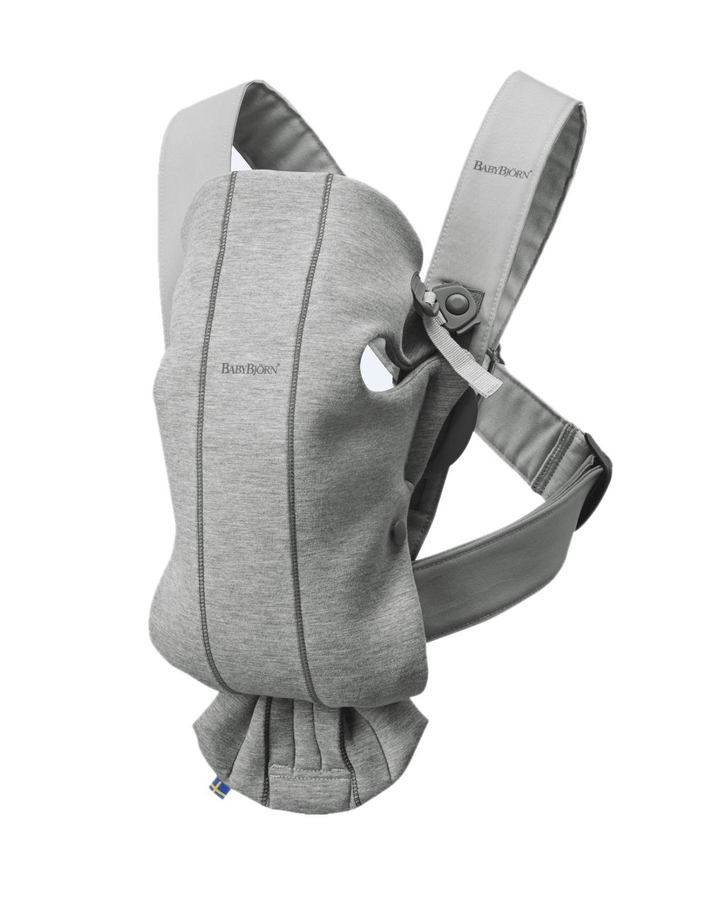 Marsupio baby carrier mini light grey 3d jersey - Baby Bjorn