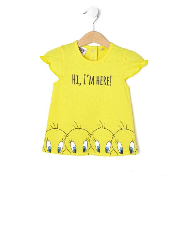 T-shirt in jersey con stampa Tweety - Prénatal