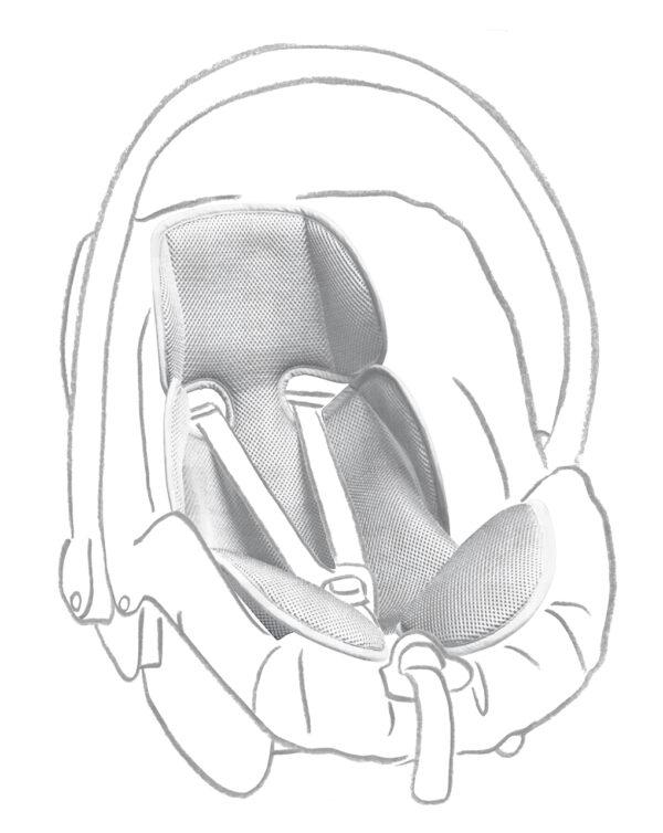 Materassino spugna neonato - Giordani
