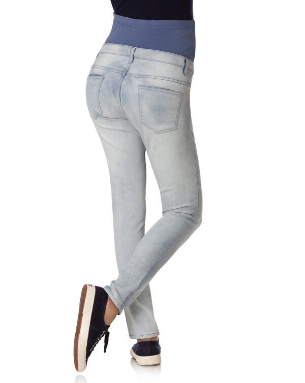 Pantalone in denim skinny effetto délavé - Prénatal