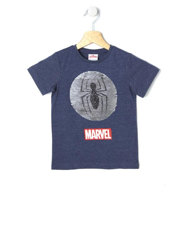 T-shirt Spiderman con paillettes magiche - Prénatal