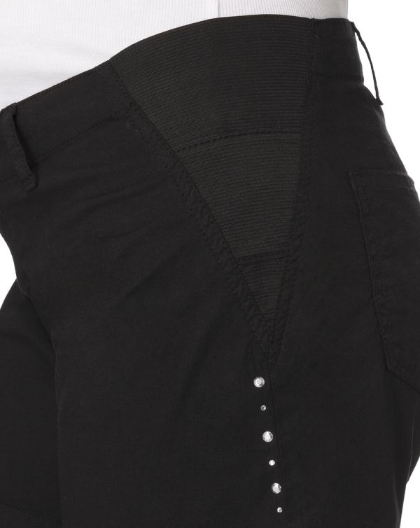 Shorts neri con piccole borchie - Prénatal