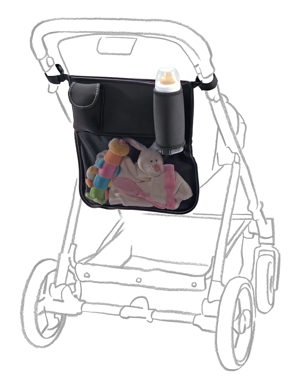 Organizer universale per passeggino - Giordani