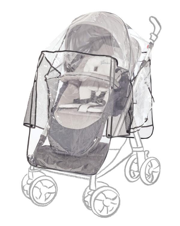 Parapioggia universale per passeggino deluxe - Giordani