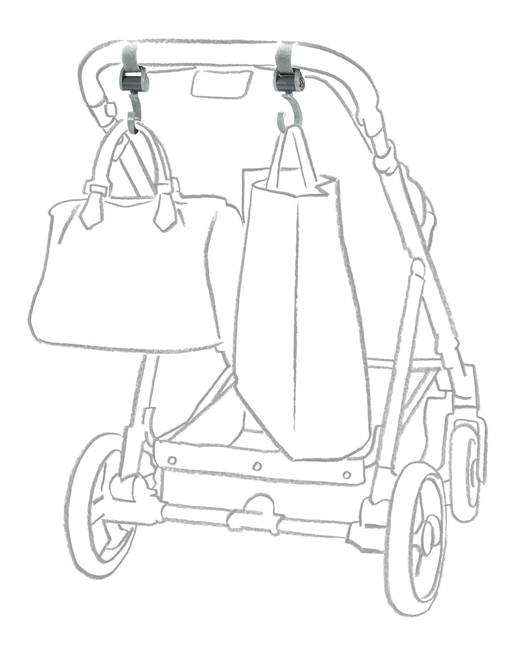 Gancio porta borse - Giordani