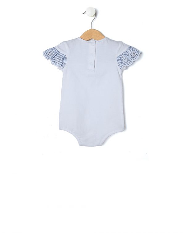 Body in jersey con balza millerighe - Prénatal