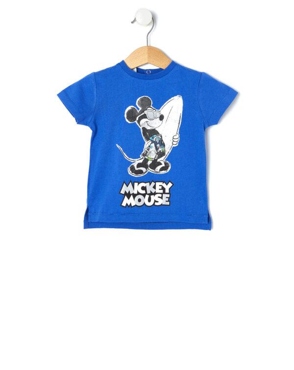T-shirt con stampa fronte retro Mickey mouse - Prénatal