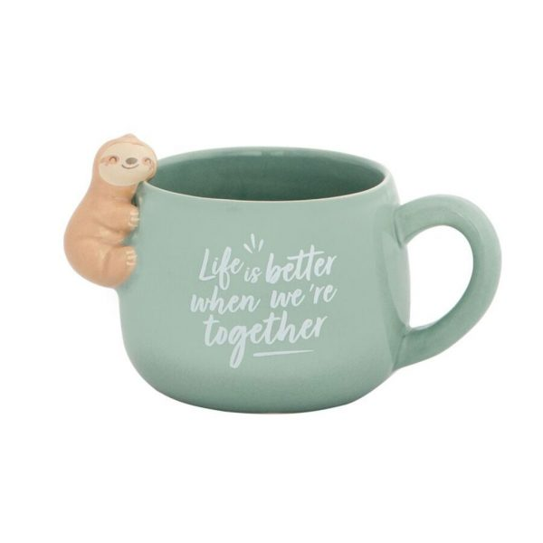 "Tazza bradipo ""Life is better when we're together"" - MR. WONDERFUL"