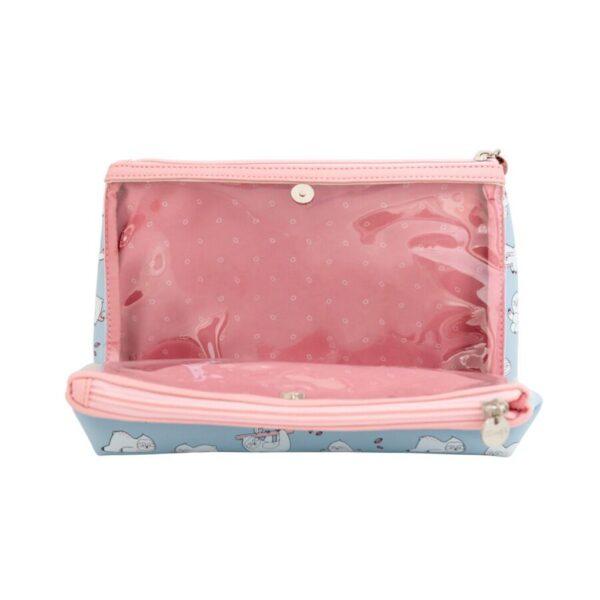 Beauty Case doppio - bradipo - MR. WONDERFUL
