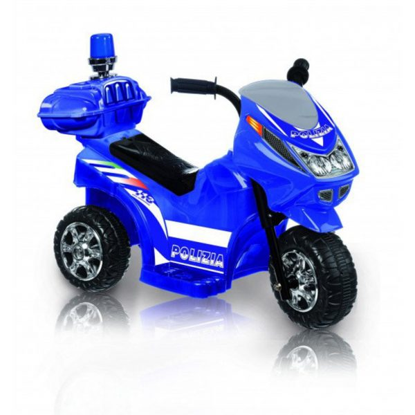 Trimoto polizia 6V luci e suoni - Sun&Sport