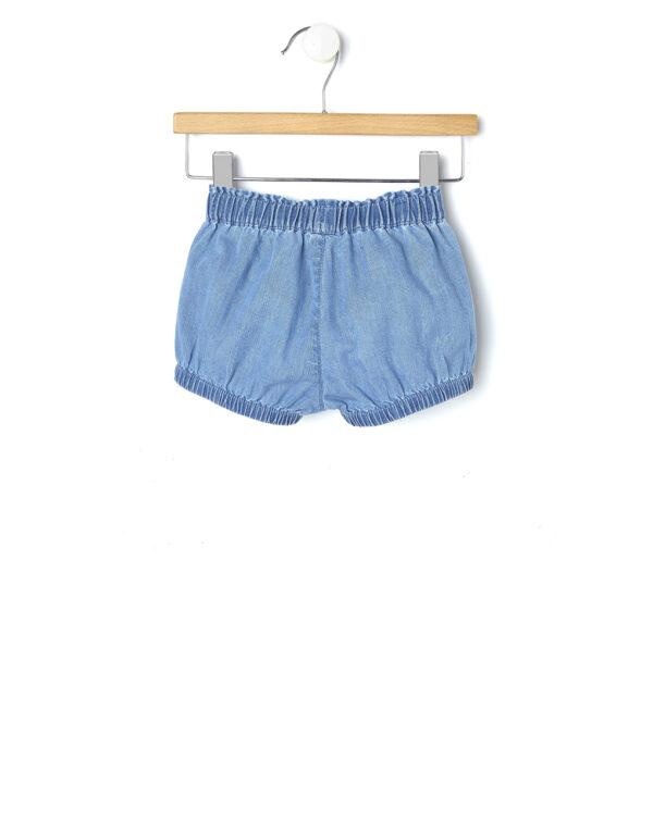 Pantaloncini in denim délavé - Prénatal