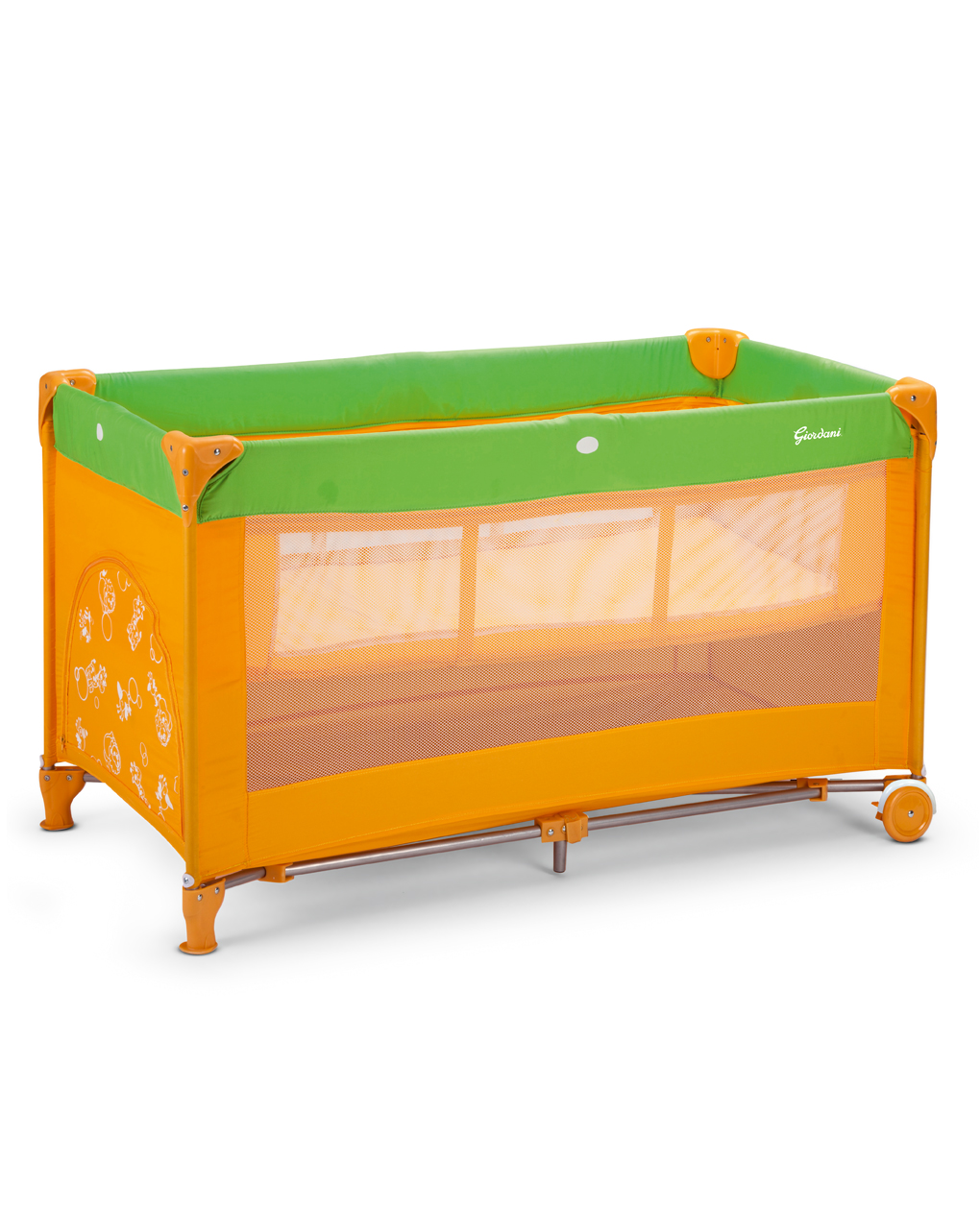 Lettino double orange/green - Giordani