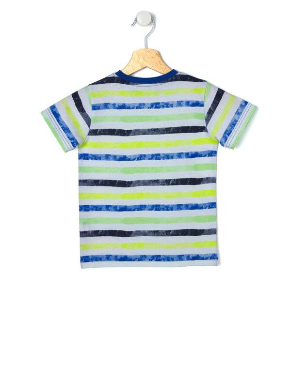 T-shirt basica con stampa a righe - Prénatal