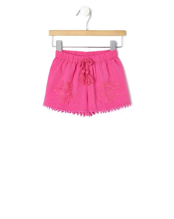 Pantaloncino in cotone con ricami - Prénatal
