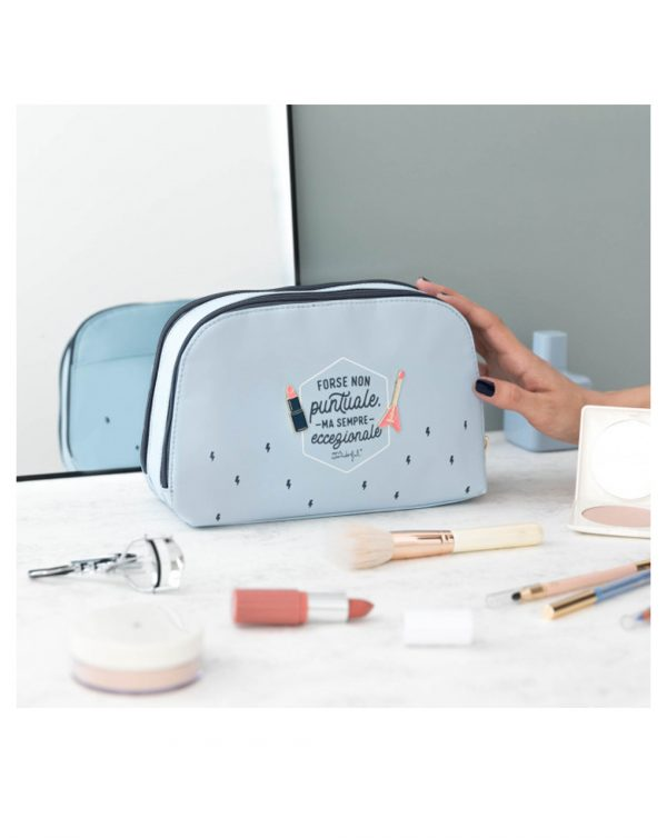 "Beauty case ""Forse non puntuale, ma sempre eccezionale"" - MR. WONDERFUL"