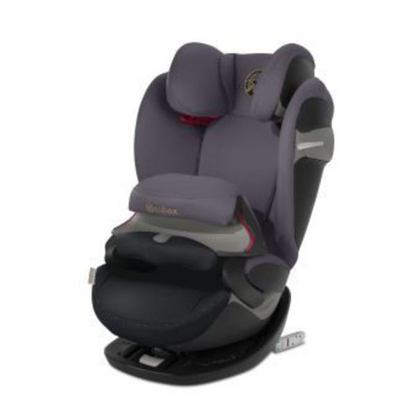 Pallas S-Fix Premium Black (Gr. 1/2/3) - Cybex