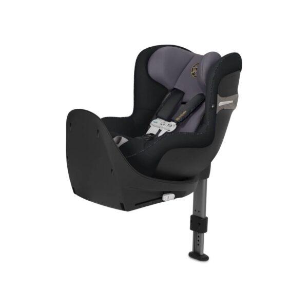 Sirona S i-Size premium black con sansorsafe - Cybex