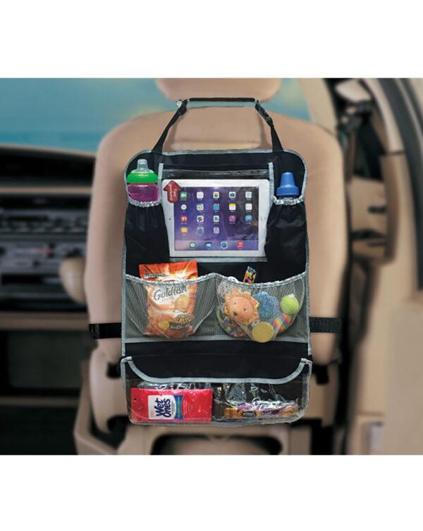 Organizer proteggi sedile auto porta tablet - Giordani