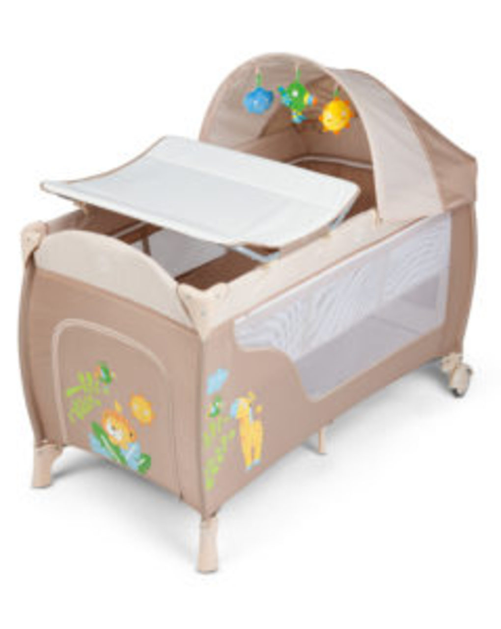 Lettino jungle friends deluxe beige - Giordani