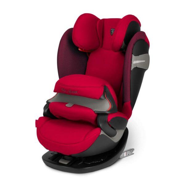 Pallas S-Fix racing red (GR. 1/2/3) - Cybex