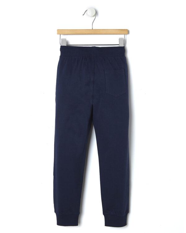 Pantalone basico in felpa con stampa - Prénatal