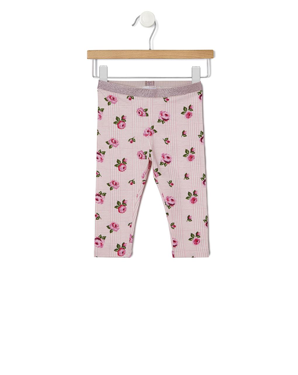 Leggings con stampa rose - Prénatal
