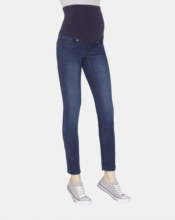 Denim regular fit con elastico alto - Prénatal