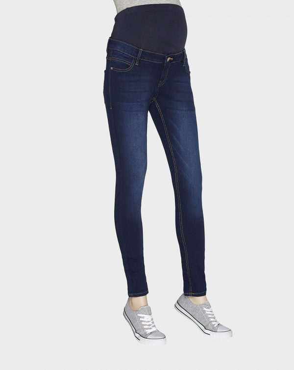 Pantaloni denim scuro skinny - Prénatal