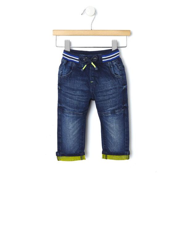 Pantalone denim délavé - Prénatal