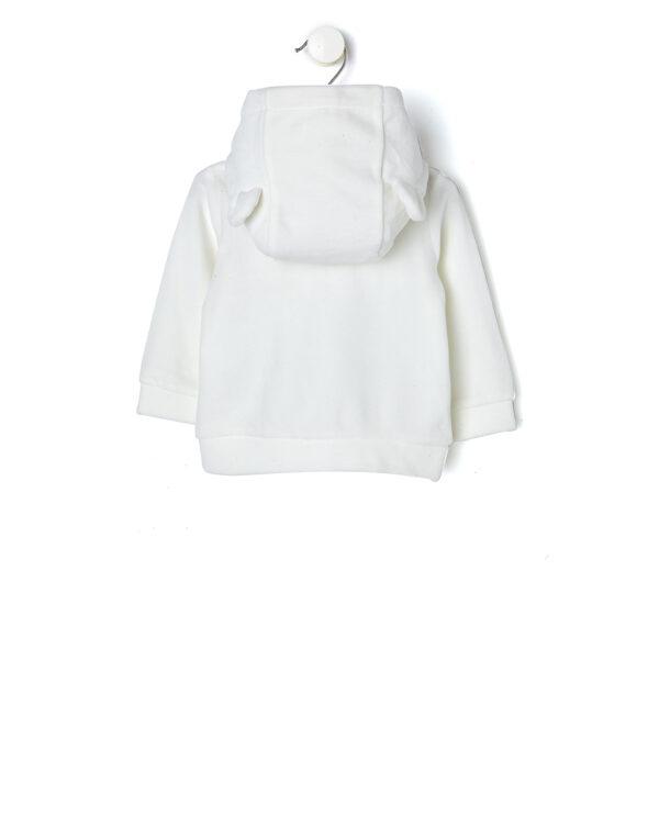 Cardigan con cappuccio in cotone organico - Prénatal