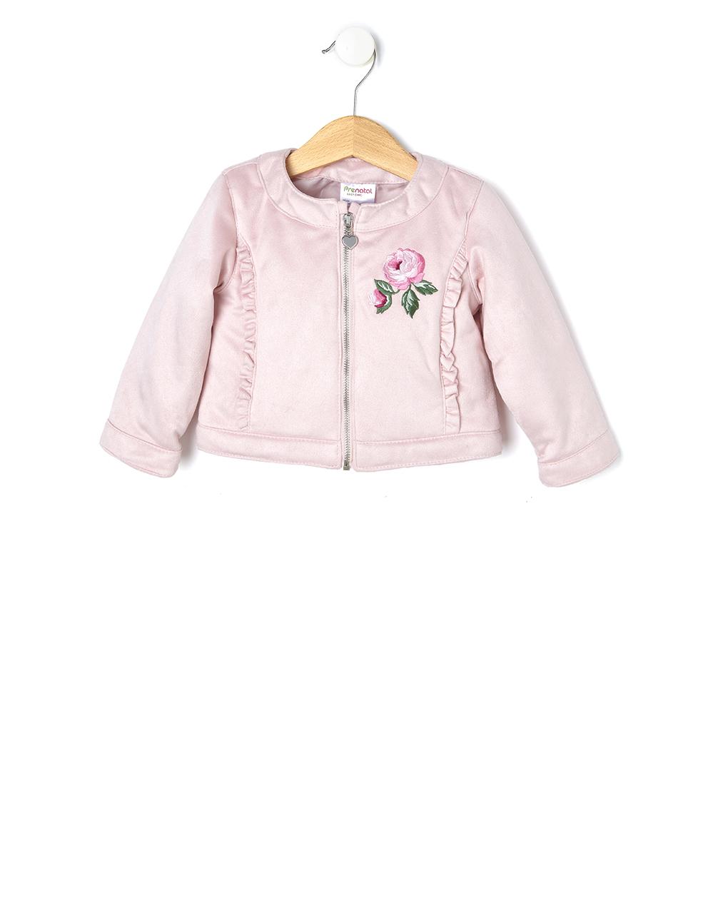 Giacca scamosciata rosa - Prénatal