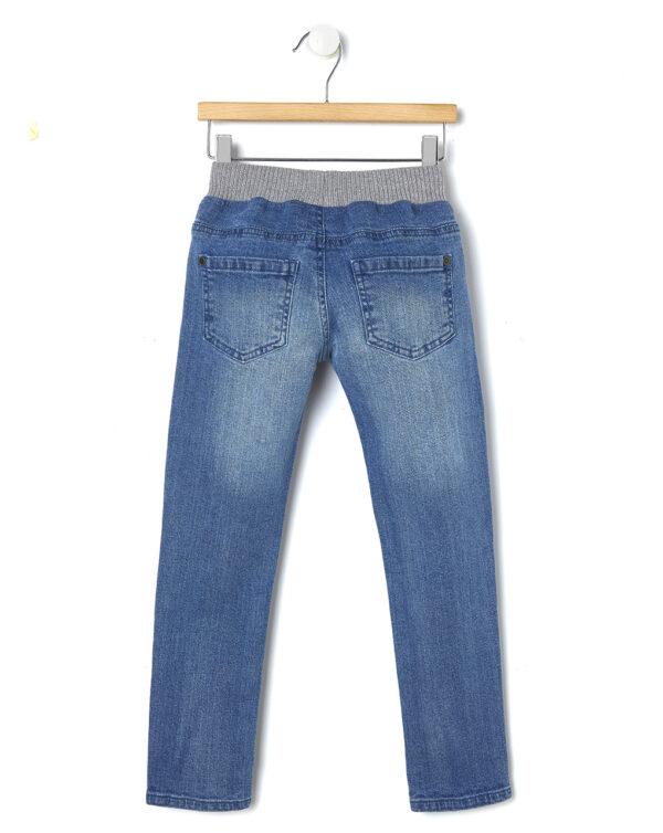 Pantaloni in denim con ricamo rose - Prénatal