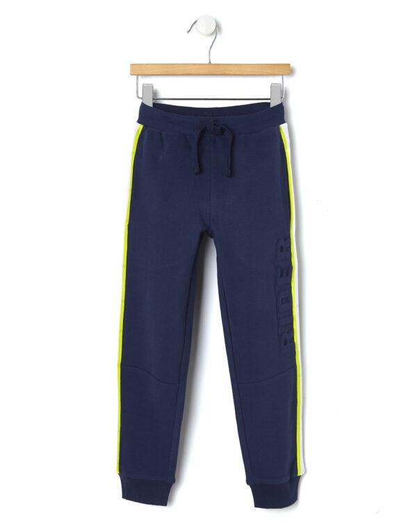 Pantaloni in felpa con bande laterali - Prénatal