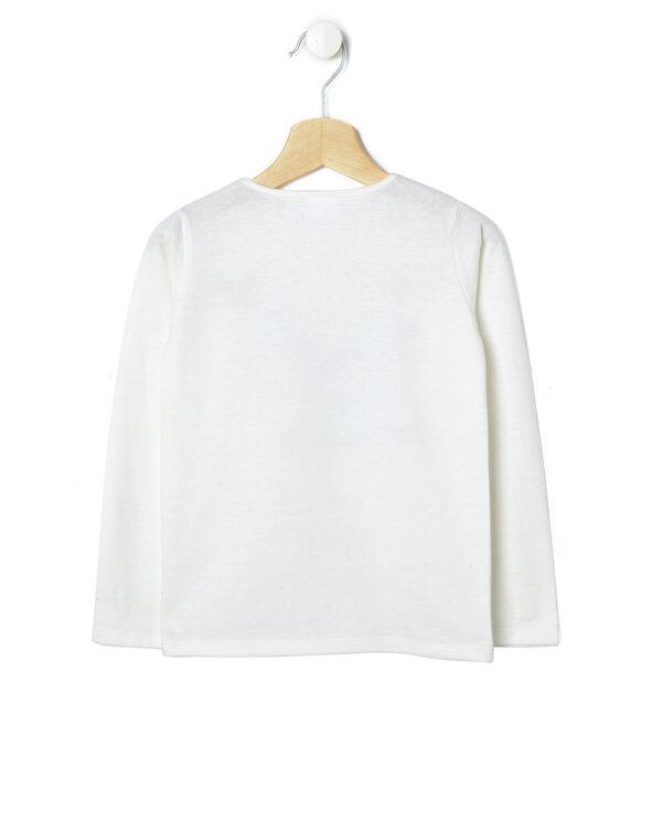 T-shirt in jersey a maniche lunghe  con stampa - Prénatal