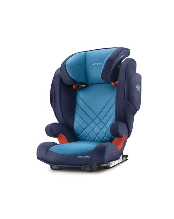 Monza Nova 2 Seatfix xenon blue (Gr. 2/3) - Recaro