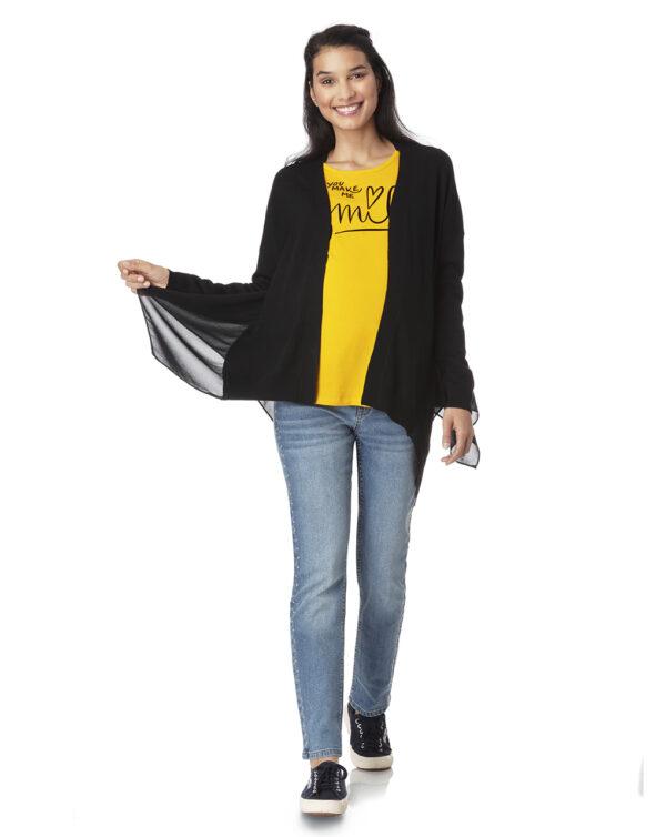 Cardigan tricot con inserti - Prénatal