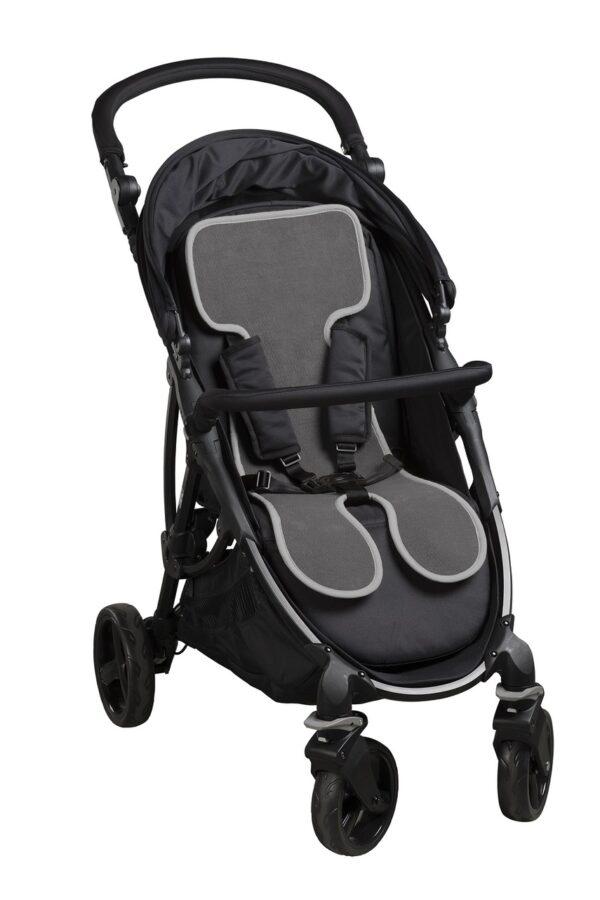 COOL SEAT foderina AirCuddle per passeggino grigio - AirCuddle