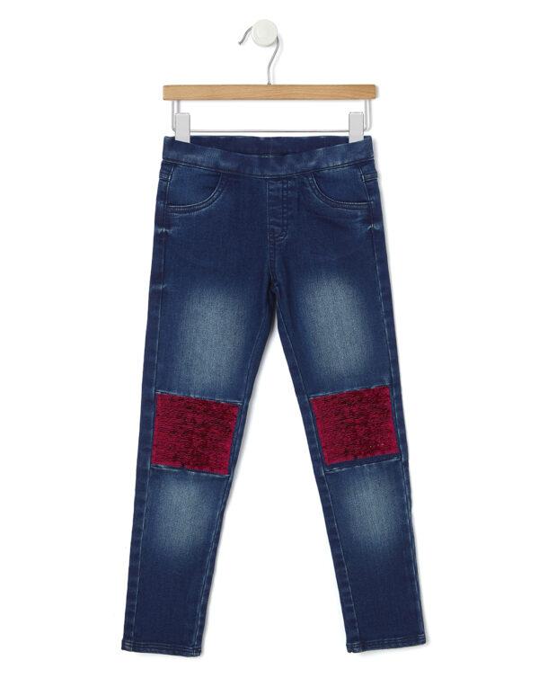 Pantaloni denim con paillettes - Prénatal