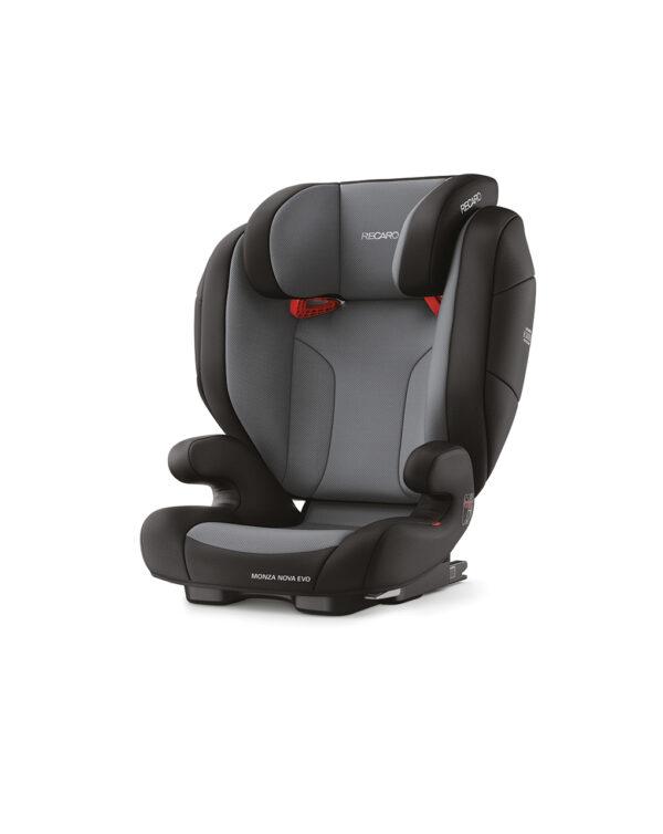 Monza Nova Evo Seatfix carbon black (Gr. 2/3) - Recaro