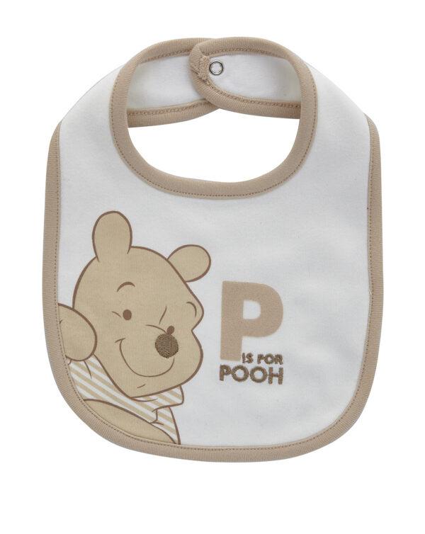 Bavaglino interlock con stampa Winnie the Pooh - Prénatal